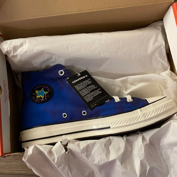 CONVERSE CHUCK 70  PEACE LOVE AND BBALL